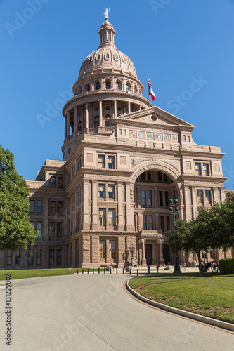 Poster Texas The Capitol Building in Austin Texas