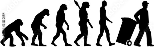 Garbage man evolution
