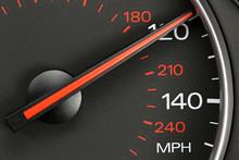 Speedometer At 120 MPH