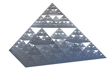 The Sierpinski Tetrahedron, Fractal Iterated Shape