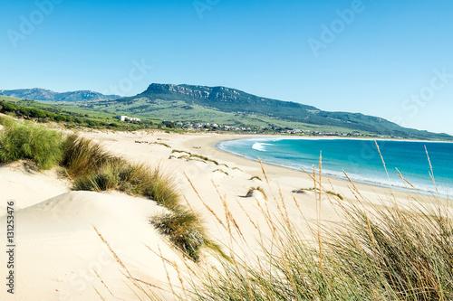 Foto auf Gartenposter Strand Dune of Bolonia beach, Tarifa, Cádiz.