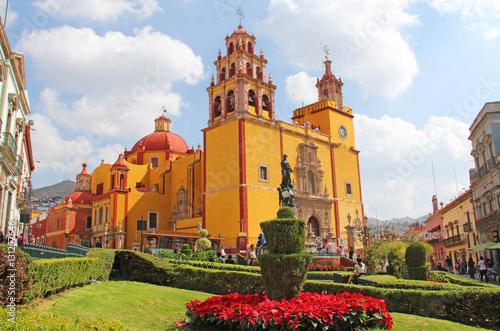 Stickers pour portes Mexique Basílica Colegiata de Nuestra Señora de Guanajuato Mexico