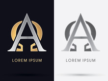 Alpha And Omega Sign Graphic Vector.