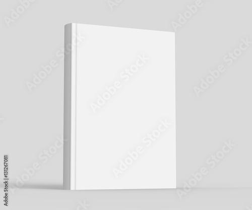 Obraz na plátně  Blank hard cover book template