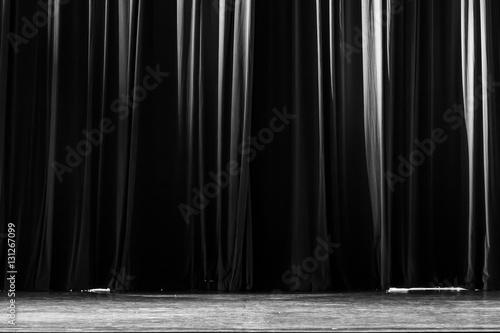Fotografie, Tablou  Curtain in the theatre.