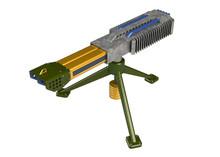 The Plasma Gun, Portable Turret (3D Model)