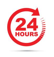 Twenty Four Hour Icon