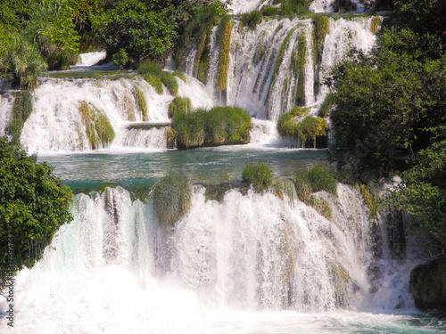 Recess Fitting Waterfalls Waterfall Skradinski buk.