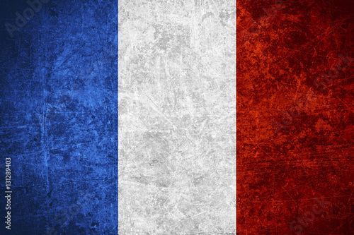 flag of France Fototapeta