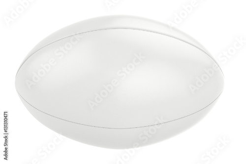 Fotografiet  white rugby ball