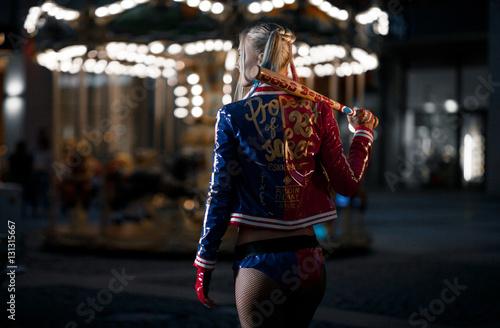 Photo  Cosplayer girl