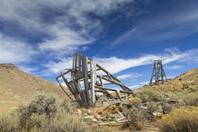 Old Mining Head Frame In The N...