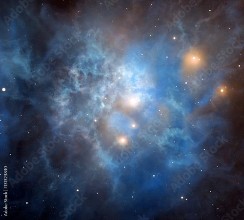 Majestic nebula