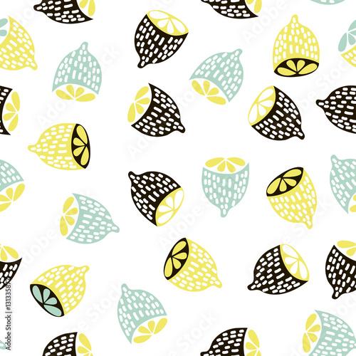 nowoczesny-owocowy-wzor-tlo-z-cytrynami-swietne-dla-dzieci-tkaniny-tekstylia-itp-ilustracja