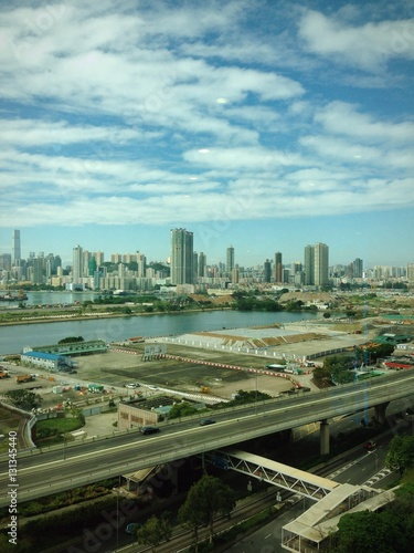 Spoed Foto op Canvas Chicago 香港の町