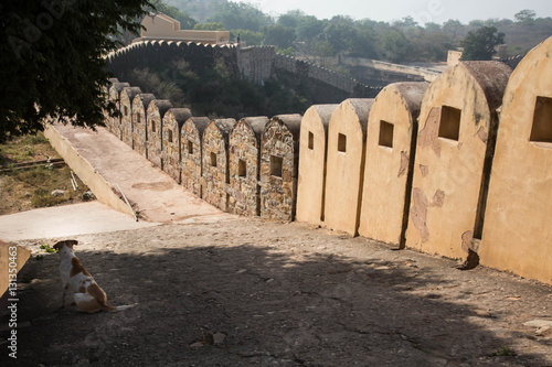Papiers peints Fortification Long wall in Mahargarh Fort