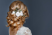Beauty Wedding Hairstyle Decor...
