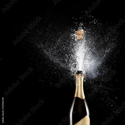 Plakat szampan
