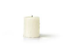 Extinguished Candle Isolated O...