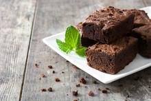 Chocolate Brownie Portions On ...