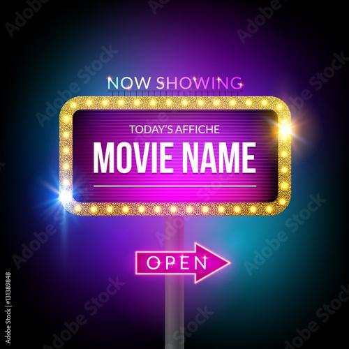Poster  Kino Billboard zeigt jetzt