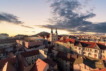 Evening Over The City Of Brno,...