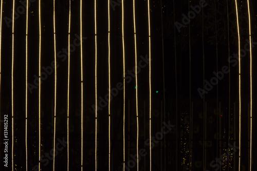 Tuinposter Fantasie Landschap Light lines background isolate on dark background