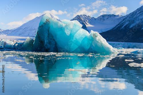 Printed kitchen splashbacks Glaciers Piece of ice