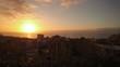 Sunset mountains Tenerife