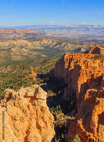 Tuinposter Canyon Beautiful rock formation in the Bryce Canyon National Park. Utah
