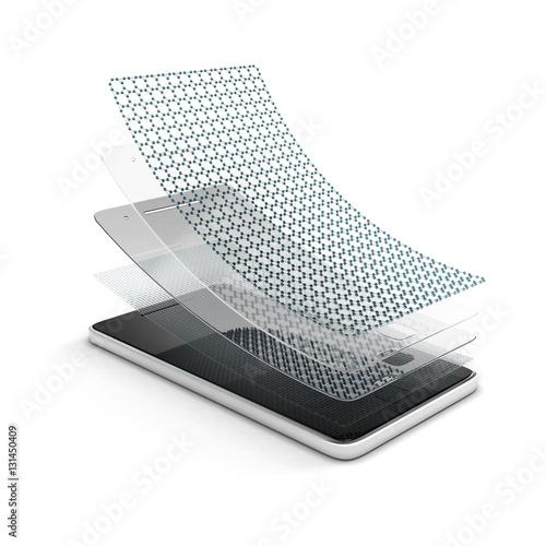 Foto  Bildschirmschutz für Smartphone