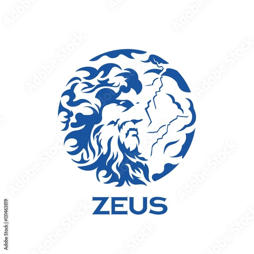 Photo  greek god zeus illustration