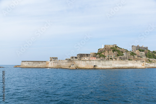 Photo  Battleship Island in Nagasaki
