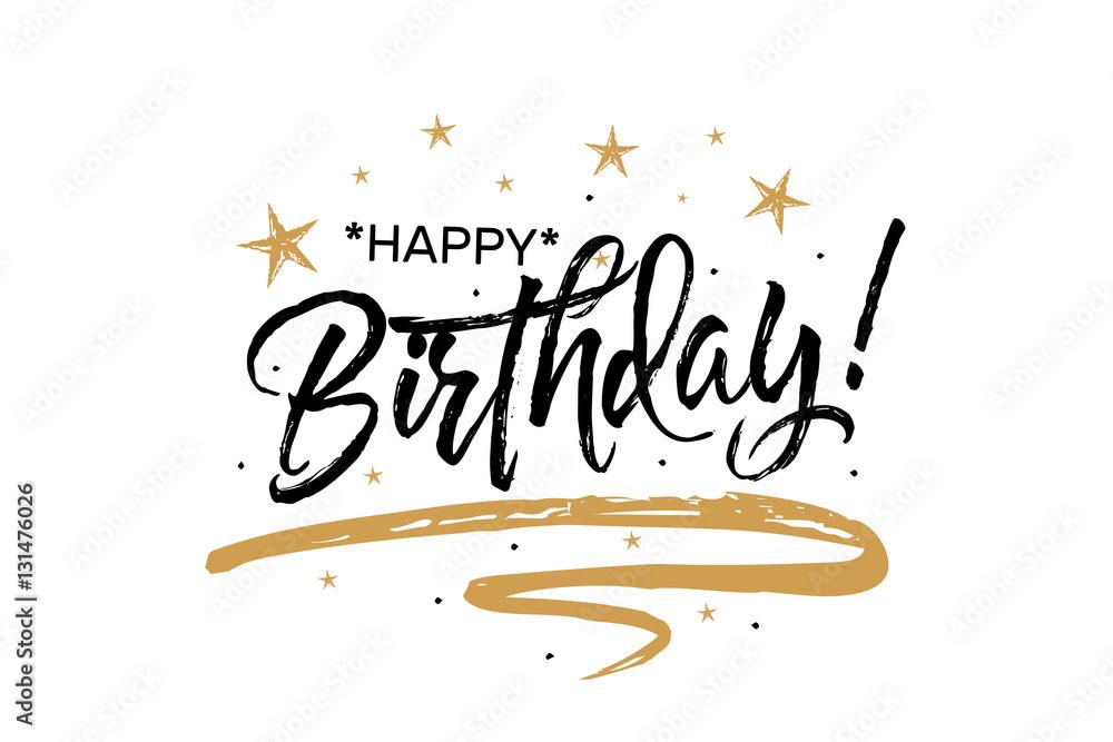 Fotografia, Obraz  Happy Birthday