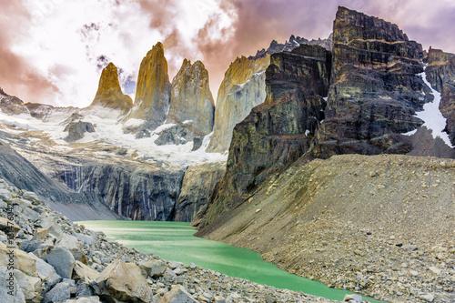 Tablou Canvas W-Circuit Torres Del Paine, Chile
