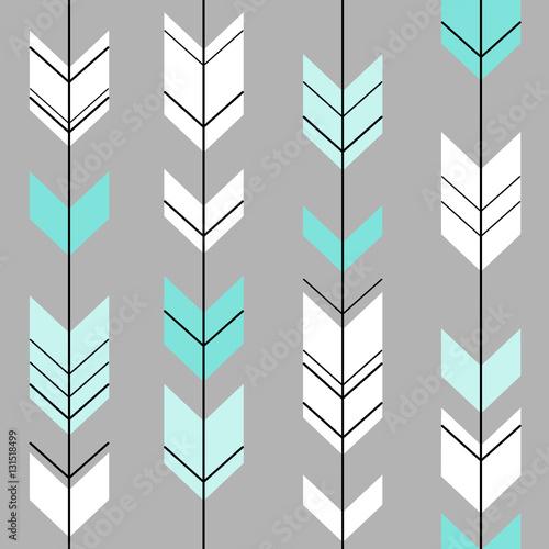 pastelowa-strzalka-etniczne-hipster-niebieski-i-bialy-na-szarym-tle