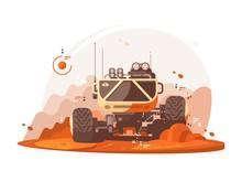 Mars Rover For Scientific Research