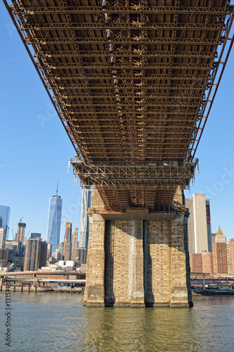 Under the Brooklyn Bridge. Poster