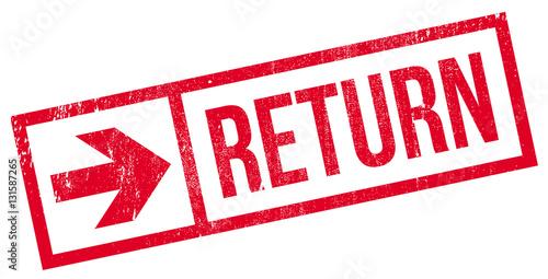 Fotomural Return stamp