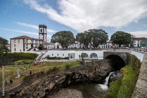 Fotografie, Obraz  Ribeira Grande city