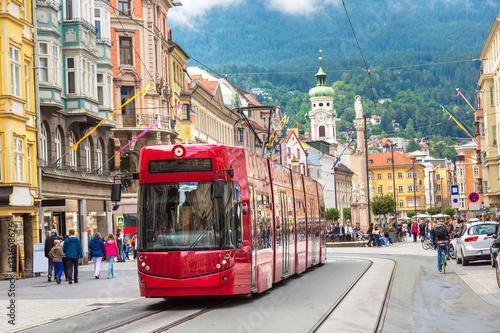 City train in Innsbruck