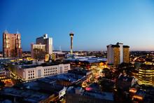San Antonio Downtown Just Afte...