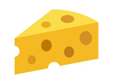 Swiss Cheese Or Emmental Chees...