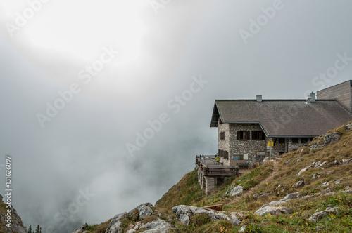 Fotografia  Bad Kissinger Alpenvereinshütte, Tannheimer Tal, Österreich