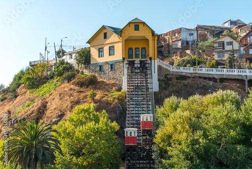 Elevators in Valparaiso, Chile