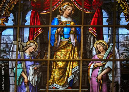 Carta da parati Stained Glass - Mary Magdalene