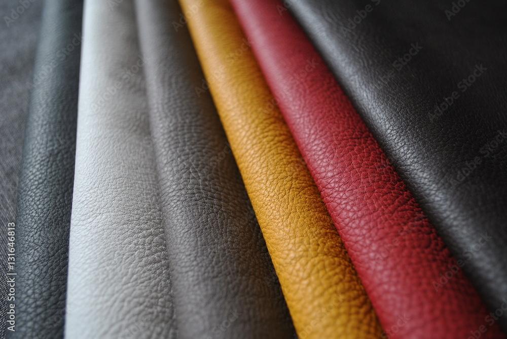 Fototapeta Tekstura kolorowej skóry
