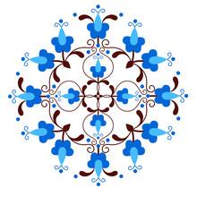 Folk Pattern Inspired By Kashu...