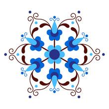 Kashubian Inspired Folk Pattern