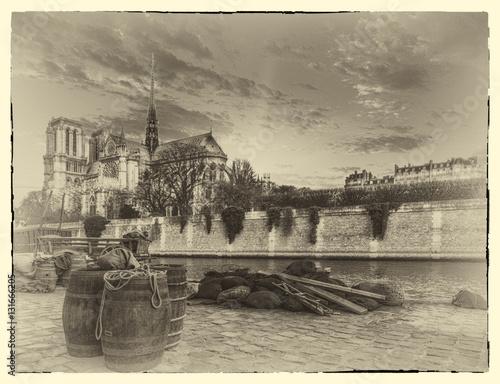 Fototapeta The city of Paris france obraz na płótnie